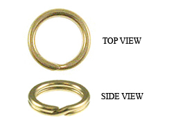 6mm Split Rings 14K Gold Filled