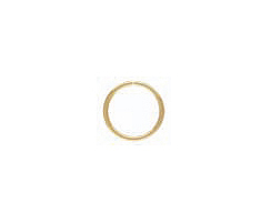 25 - 9mm Open 20.5 Gauge 14K Gold-Filled Jump Rings