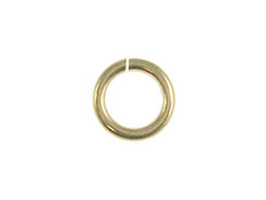 25 - 4mm Open 18 Gauge (Heavy Duty) 14K Gold-Filled Jump Rings