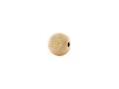 14K Gold Filled  3mm Round Stardust Beads, 1mm Hole