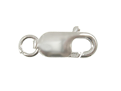 Sterling Silver Lobster Claw Clasp with Ring