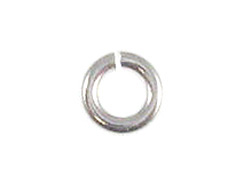 20.5 Gauge 5mm Round Sterling Silver Open Jump Ring