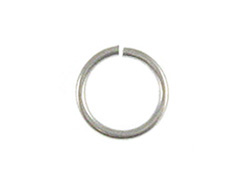 18 Gauge 6mm Round Sterling Silver Open Jump Ring Bulk Pack of 500