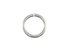 16 Gauge 5mm Round Heavy Duty Sterling Silver Open Jump Ring