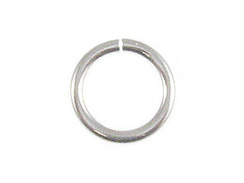 16 Gauge 7mm Round Heavy Duty Sterling Silver Open Jump Ring