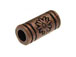 Copper Plated Brass Tube Bead