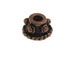 Copper Plated Brass Bali Style Bead Cap