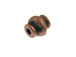 Round Copper Plated Brass Bead