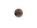 Round Antique Copper Plated Brass Bead