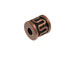 Copper Plated Brass Bali Style Tube Bead