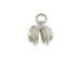 Silver Plated Jingling Bell Charm