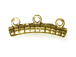 Caterpillar Component 3-Loops Antique Gold Finish