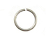 19 Gauge Silver Plated Open Jump Ring