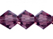 Amethyst 3mm Bicone Bead - Thunder Polish Glass Crystal