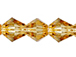 Citrine  3mm Bicone Bead - Thunder Polish Glass Crystal