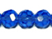 Med. Sapphire 4mm Round Bead - Thunder Polish Glass Crystal