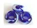 12.5x7mm Large Hole (5mm+) Handmade Glass Bead