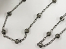 Oxidized - Sterling Silver Chains