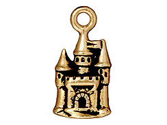 CHARM-Castle (Antique Gold Plated)