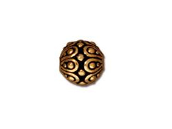 20 - TierraCast Pewter BEAD Casbah Antique Gold Plated