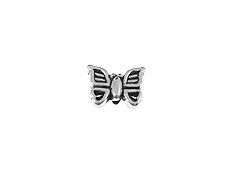 Pewter Butterfly Bead