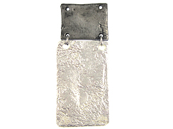 Long Rectangle Pewter Pendant