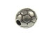 Pewter Soccer Ball Bead