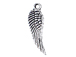Small Angel Wings Pewter Charm