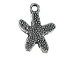 Medium Starfish Pewter Pendant