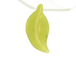 Carved Gemstone Leaves - Peridot Jade
