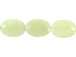 Faceted New Jade Ovals