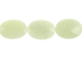 Faceted Jade Ovals