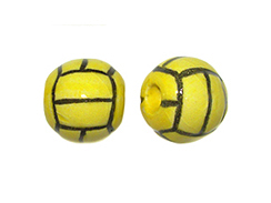 Ceramic Medium Water Polo Ball Bead