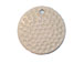 Ceramic Golf Ball Pendant, 27mm Round