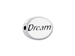 Dream - Pewter Word Bead