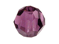 Amethyst Swarovski Round Crystal Beads  Factory Pack of 288