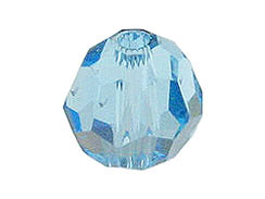 6mm Aquamarine  - Swarovski Round Beads Factory Pack