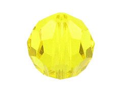 6mm Citrine  - Swarovski Round Beads Factory Pack