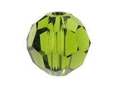 4mm Olivine Swarovski Rounds