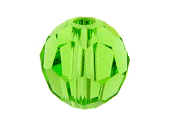 Peridot - Swarovski 5000 5mm Round Faceted Beads Factory Pack
