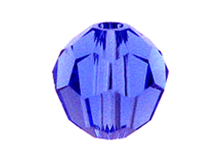 Sapphire - Swarovski 5000 4mm Round Faceted Beads Factory Pack