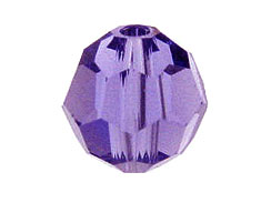 Tanzanite - Swarovski 5000 3mm Round Faceted Beads Factory Pack