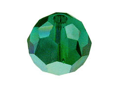 8mm Emerald AB Swarovski Rounds Factory Pack