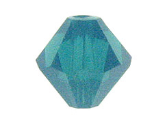 100 3mm Caribbean Blue Opal - Swarovski Faceted Bicone Beads
