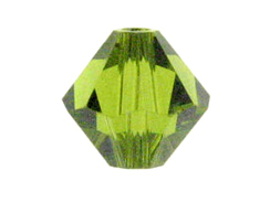 5mm Olivine - Swarovski 5301/5328 Bicone Beads Factory Pack of 720