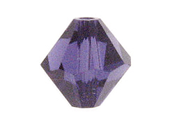 4mm Purple Velvet - Swarovski Bicones Factory Pack