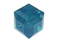 Caribbean Opal Swarovski 5601 6mm Cube Beads Factory Pack