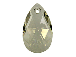 Crystal Silver Shade - 16mm Swarovski  Pear Shape Drop