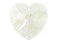 Crystal Moon Light - Swarovski Heart Shape Pendant