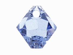 Light Sapphire - 8mm Swarovski 6301 Top Drilled Bicones Factory Pack of 288